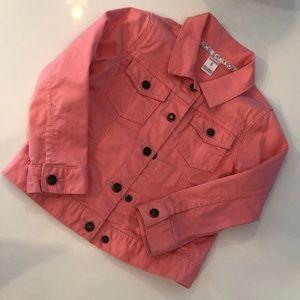 Girl's Carter's Pink Denim Jacket - 5